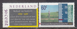 The Netherlands MNH NVPH Nr 1345/46 From 1986 / Catw 1.10 EUR - Periode 1980-... (Beatrix)