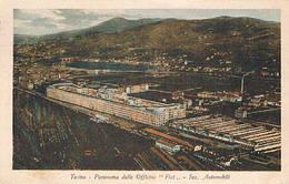 "TORINO  - OFFICINE "" FIAT ""  SEZ. AUTOMOBILI  - 1928 - Trasporti"