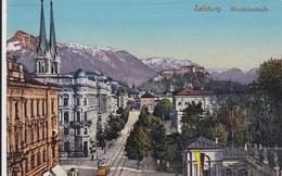 AK - Salzburg - Westbahnstrasse Mit Alter Strassenbahn - 1913 - Salzburg Stadt