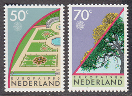 The Netherlands MNH NVPH Nr 1353/54 From 1986 / Catw 1.20 EUR - Periode 1980-... (Beatrix)