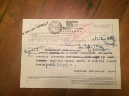 1949 Telegramma Novara - 6. 1946-.. Repubblica