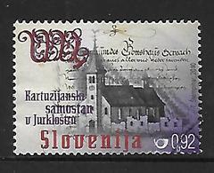 Slowenien  2010  Mi 849  Mittelalterliche Klöster  Gestempelt - Slowenien