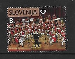 Slowenien  2011  Mi 860  80 Jahre Postblasorchester  Gestempelt - Slowenien