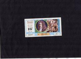 VP14.383 - Billet De Loterie Nationale André LE NOSTRE - Lottery Tickets