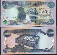 Iraq P100 5000 Dinars 2013 AH 1435   Unc.. - Iraq