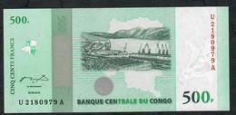 CONGO D.R. P100  500  FRANCS  30.6.2010   #U/A        UNC. - Zonder Classificatie