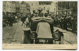 CPA - Carte Postale - Militaria - Dragons Partant Sur Le Front (M7093) - Weltkrieg 1914-18