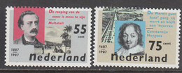 The Netherlands MNH NVPH Nr 1370/71 From 1987 / Catw 1.50 EUR - Periode 1980-... (Beatrix)