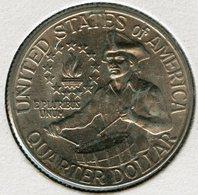 Etats-Unis USA Quarter 25 Cents Dollar 1976 D Bicentenaire De La Révolution 1776 - 1976 KM 204 - Émissions Fédérales