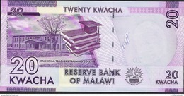 MALAWI P57d 20 KWACHA  2017   UNC. - Malawi