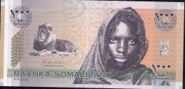 SOMALILAND  PCS1a  1000  SHILLINGS   2006  Prefix AA       UNC. - Somalia