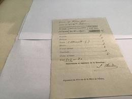 Note Du 1913école De Remiremont Relevé De Notes Nature Des Compositions Place Obtenue Par L'élève Conduite Politesse Le - Diplômes & Bulletins Scolaires