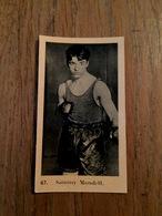 """ Sammy MANDELL - Samuel Mandella "" Boxeur Américain Né à Rockford - Boxe Sport - Pub Chocolat Mirault - Boxing"