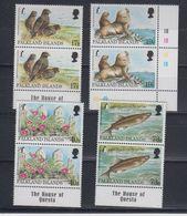 Falkland Islands 1997 Endangered Species 4v (pair) ** Mnh (41775) - Falklandeilanden