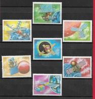 CUBA MNH - 1988 Giornata Dei Cosmonauti - Vari ¢ - Michel CU 3173 - 3179 - Cuba