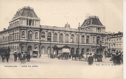 BRUSSEL BRUXELLES GARE DU NORD - Spoorwegen, Stations