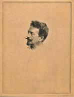 Félicien Rops Vu Par Adrien De Witte, 1894 - Estampes & Gravures