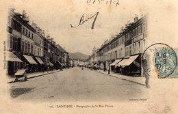 St Saint Die Dié Perspective De La Rue Thiers - Saint Die