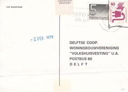 NETHERLANDS - BRIEFKAART 1979 Met Duitse En Nederlandse Postzegel - Holanda