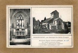 CPA - MORIZECOURT (88) - Carte Multi-vues De L'Eglise Romano-gothique Du Début Du Siècle - Other Municipalities