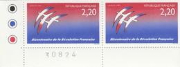 FRANCE 1989 N° 2560** REVOLUTION LA PAIRE BDF - France