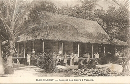 Cpa Iles Gilbert Couvent Des Soeurs A Tarawa - Micronesië