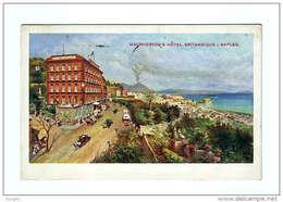 NAPOLI MACPHERSON´S HÔTEL BRITANNIQUE RICHTER & CO. Annullo A Targhetta - Napoli