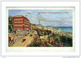 NAPOLI MACPHERSON´S HÔTEL BRITANNIQUE RICHTER & CO. Annullo A Targhetta - Napoli (Naples)