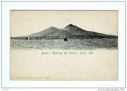 NAPOLI ERUZIONE DEL VESUVIO LUGLIO 1895 - Napoli (Naples)