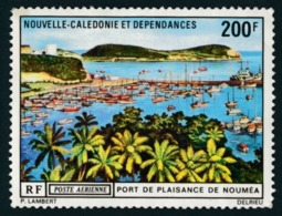 NOUV.-CALEDONIE 1971 - Yv. PA 124 **   Cote= 22,00 EUR - Port De Plaisance De Nouméa  ..Réf.NCE24336 - Poste Aérienne