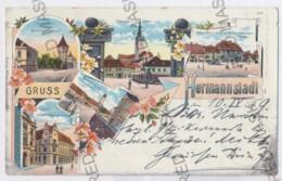 RO 20 - 12926 SIBIU, Romania, Litho - Old Postcard - Used - 1899 - Romania