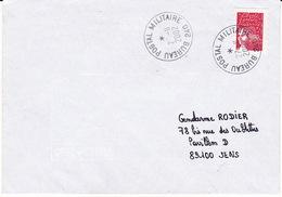 Lettre 2002 TàD Manuel Armées BPM BUREAU POSTAL MILITAIRE 240 = Kaboul AFGHANISTAN Sur Marianne Luquet Jumelet - Postmark Collection (Covers)