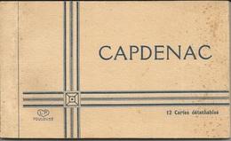 Capdenac Carnet De 12 Cartes Détachables - Francia