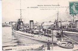 TOULON / BATEAU GUERRE - COGNEE Torpilleur De Haute Mer Au Petit Rang / MARIUS BAR 52 - Guerra