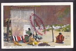 Q0702 - The Complete Story Of A Navajo Blanket - Canyon De Chelly - ARIZONA  -  USA - Etats-Unis