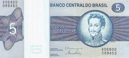 Brazil - Pick 192d - 5 Cruzeiros 1979 - Unc - Brasile