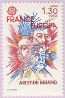 N° Yvert & Tellier 2085 - Timbre De France (Année 1980) - MNH - Aristide Briand - Francia