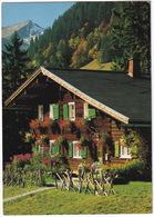 Kleinwalsertal - 'Alter Walserhaus' Im Schwend'le - (Vorarlberg) - Kleinwalsertal