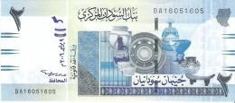 Sudan - Pick 65 - 2 Pounds 2006 - Unc - Soudan