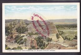 Q0704 - Haystacks Rock Formation - St Michael's Valley - ARIZONA  -  USA - Etats-Unis