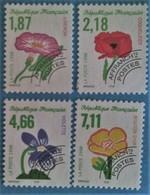 France 1998 : Fleurs Sauvages N° 240 à 243 Oblitéré - Préoblitérés