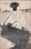 SENEGAL - Le Joueur De Balafon Musicien Ethnique Ethnic 1916 Epoque Coloniale Colonie Timbre Afrika Afrique Africa - Sénégal