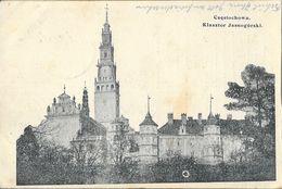 Czestochowa (Pologne) 1915 - Klasztor Jasnogorski (Monastaire) - Pologne