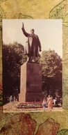 Latvia. RIGA. Lenin Monument (moved Away To Warehouse In 1991) - Monuments