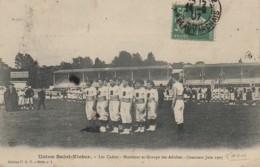 02 LAON Union Saint-Victor Les Cadets -Moniteur Et Groupe Des Adultes - Concours Juin 1907 - Laon