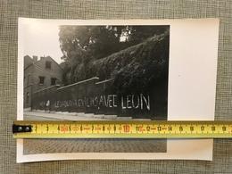 LIEGE MONTAGNE SAINTE WALBURGE VESTIGES DE LA CONSULTATION POPULAIRE DU 12 MARS 1950 - Vieux Papiers