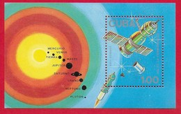 CUBA MNH - 1988 Cosmonautics Day - 1 $MN - Michel CU BL104 - Cuba