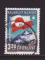 Greenland 1989, Flag, Minr 195, Vfu - Greenland
