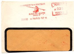 EDITION + PRESSE = PARIS 1963 = EMA  = ' DARGAUD EDITEUR  ' - Postmark Collection (Covers)