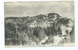 India  Postcard Darjeeling View From St. Pauls A Hefferan Masters Curios - Indien